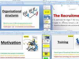 AQA GCSE 9-1 Business - 3.4 Human resources