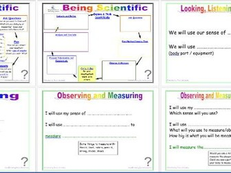 Being Scientific: Working Scientifically in Enquiry and Investigation - Doing Investigations Edit
