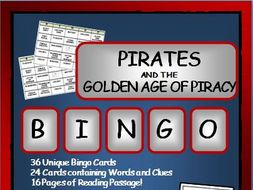 Reading Passages and Bingo: Pirates and the Golden Age of Piracy