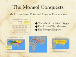 The Mongol Conquests PowerPoint & Keynote Presentations