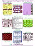 Adverbs of Frequency and Frequency Expressions 7 Game Plus 2 Worksheet Bundle