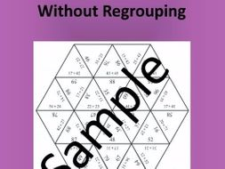 2-digit Addition Without Regrouping (1) – Math puzzle