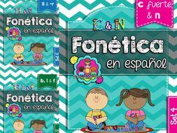 Spanish Phonics Book Bundle # 2: Sets 4, 5, and 6