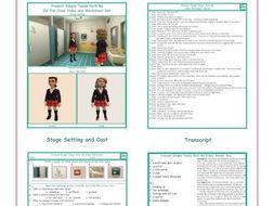 Present Simple Tense Verb Be Video and Worksheet