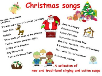 Christmas Singing Images.Christmas Songs A Collection Of New And Traditional Singing And Action Songs