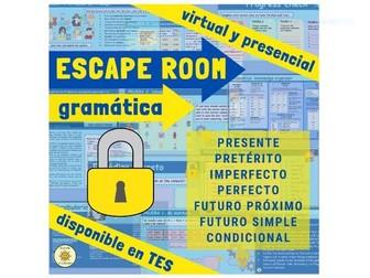 Spanish Grammar Escape Room