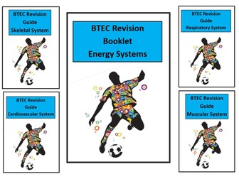 Btec Sport L3 - Unit 1 - Complete Anatomy & Physiology Revision Notes/Guides