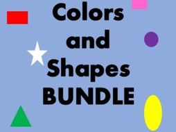 Farben und Formen (Colors and Shapes in German) Bundle