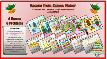 Escape-from-Exmas-Manor-KS-THREE-Student.ppsx
