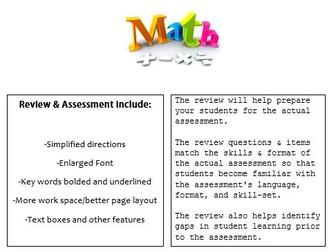 Grade 2, Math Module 3 REVIEW & ASSESSMENT w/Ans keys (printables & Smart Board)