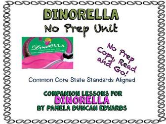 Book Unit for Dinorella -- Common Core State Standards Aligned