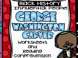 Black History - Influential People - George Washington Carver (Bilingual Set)