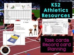 Upper KS2 Y5/6 - Fitness /  Athletics PE Planning and Resources