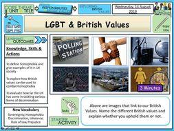 British Values and LGBT