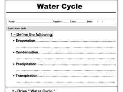 Water cycle worksheet by abubakrshalaby teaching resources tes water cycle worksheet ibookread ePUb