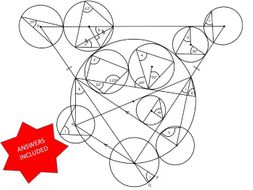 Circle Theorems Revision Exercise #14
