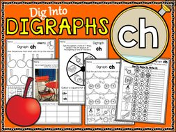 Phonics | Digraph CH | Worksheets