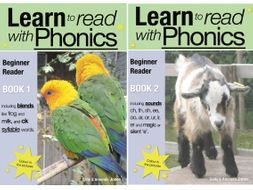 Learn To Read With Phonics: Beginner Reader Books 1 & 2