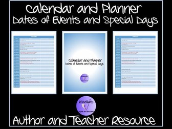 TES Authors: TES Calendar and Planner