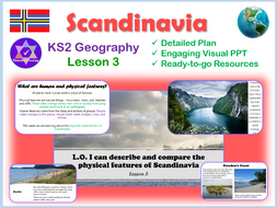 Scandinavia Physical Features Lesson 3