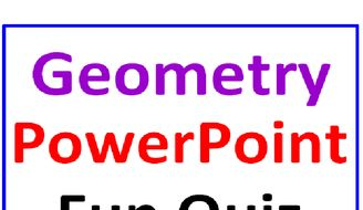 geometry powerpoint fun quiz by dfilipek teaching resources tes