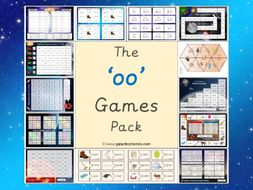 The 'oo' (long u) Phonics Games Pack (Phase 3)