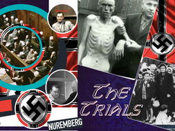 Nuremberg Trial ~ International Law ~  Nazis ~ Goering + Eichmann  Mengle = 44 Slides