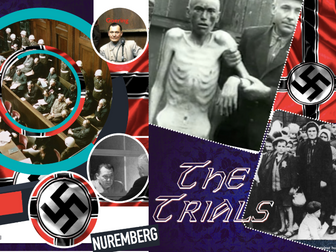 Nuremberg Trial ~ International Law ~  Nazis ~ Goering + Eichmann  Mengle = 44 Slides