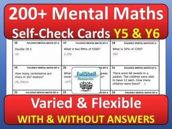 Mental Maths Year 5 / 6