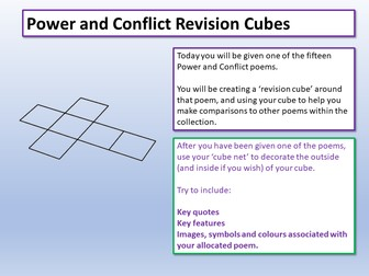 Power and Conflict Revision
