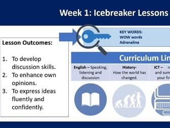 Ice Breakers - WOW Words