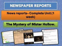 YEAR 6    NEWSPAPER REPORTS  COMPLETE WEEK