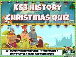 KS3 History Christmas Quiz 2020