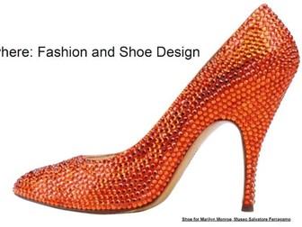 Fashion & Shoe Design: Learn Anywhere #googlearts