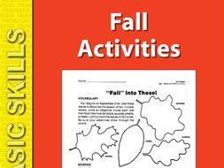 Fall: Seasonal Skill-Builder
