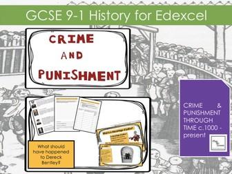 Edexcel GCSE 9-1 Crime & Punishment: Lesson 30 The Derek Bentley case study.