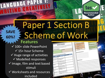 Creative Writing Scheme of Work GCSE