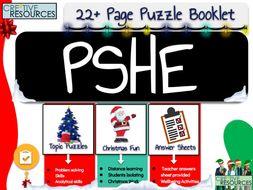PSHE Christmas Activities