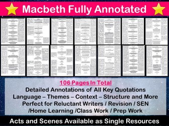 Macbeth Fully Annotated