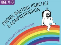 Writing And Comprehension Practice: I Spy A Cat (4-8 years)