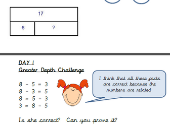 Year 2 Maths  Block 2 Addition & Subtraction White Rose Planning and resources - first 2 weeks