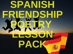 Spanish Friendship Poetry Lesson