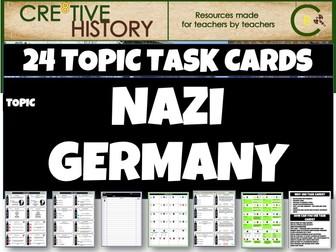 Nazi Germany History Task cards