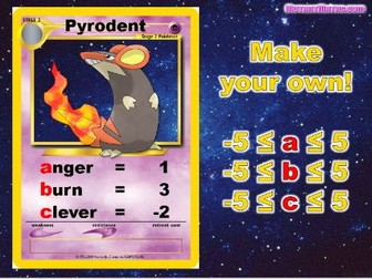 � Substitutémon � Substitution Card Game Activity - Engaging & Competitive