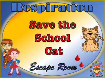 Respiration - Save the School Cat Escape Room KS3