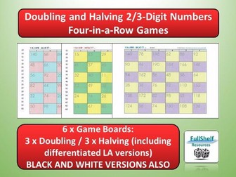 Doubles / Halves Games