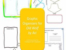 Graphic Organizers for Old Wolf by Avi