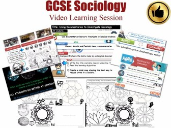 Video Learning Session - The Sociology of Education L20/20 [ AQA GCSE Sociology - 8192] Documentary