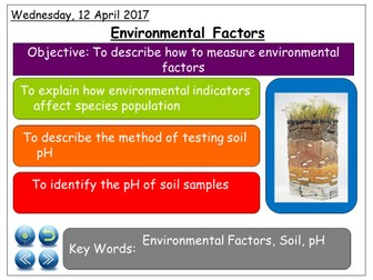 KS3 Unit of Work - Ecology and Classification