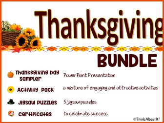 Thanksgiving: Thanksgiving Day Bundle